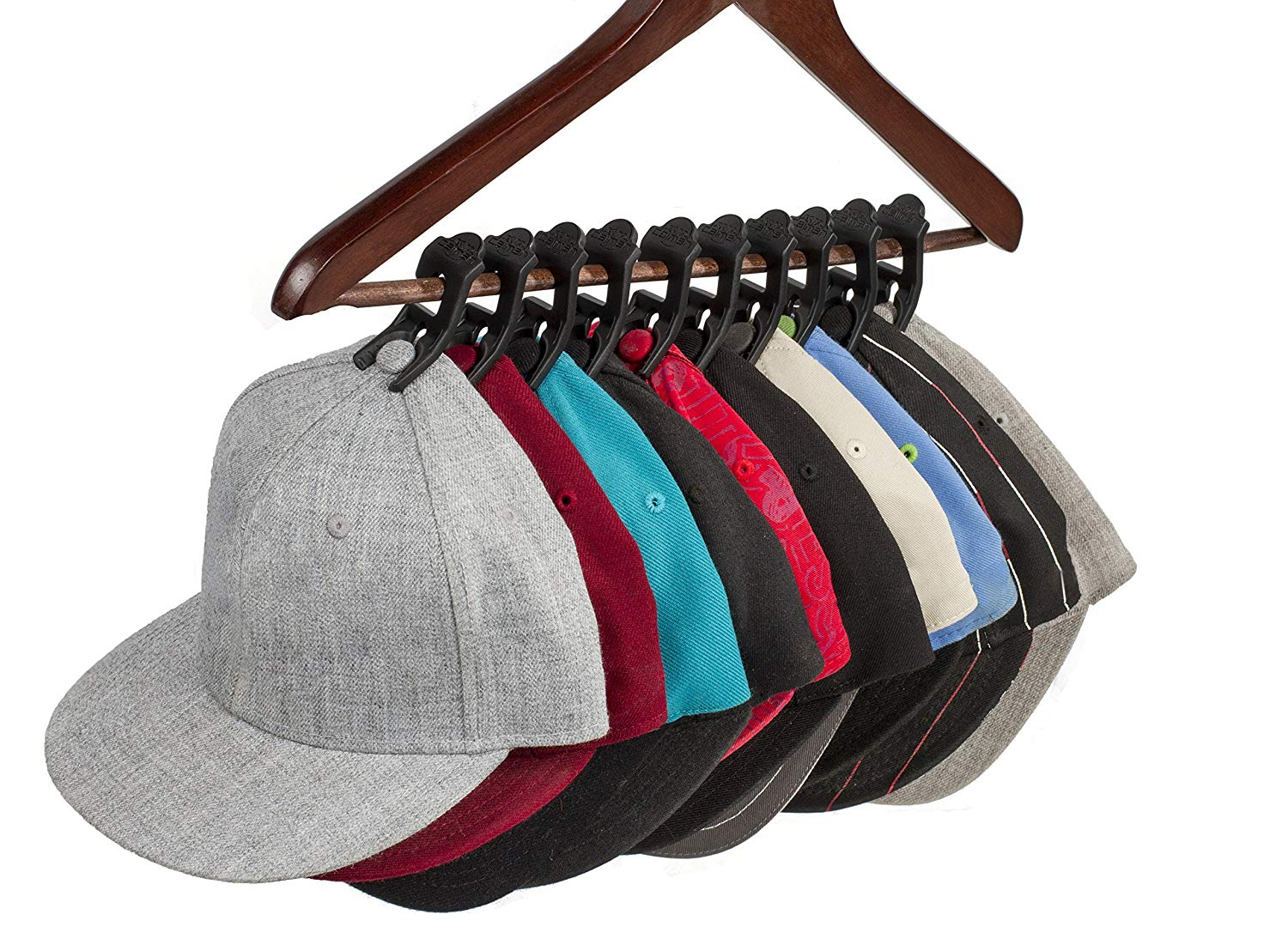 Caiman Hat Clips The Hat Organizer That Fits In Your Closet And